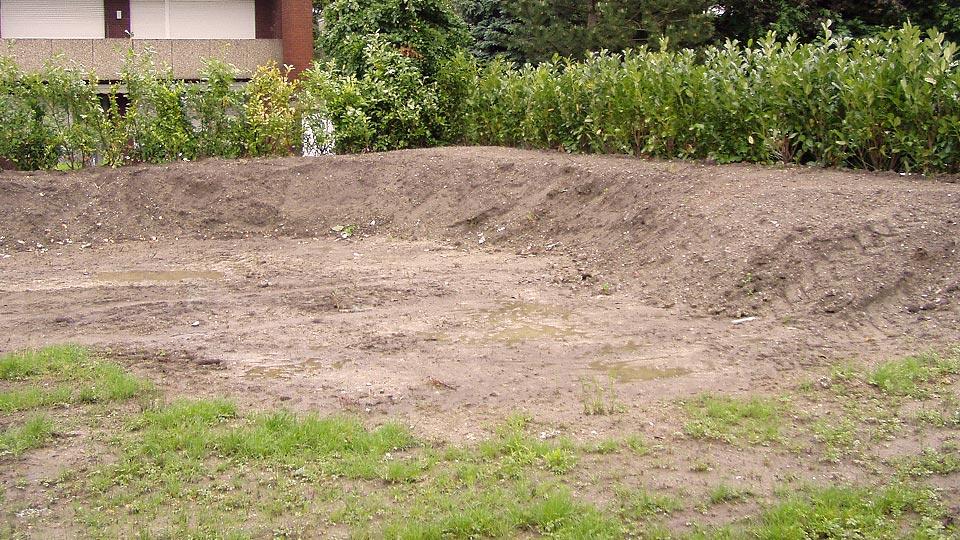 Gartengestaltung – Gartensituation vorher