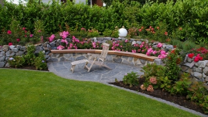 Gartengestaltung – Gartensituation nachher