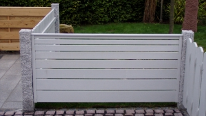 Zaunbauarbeiten - Elegante Zaunanlagen aus Holz